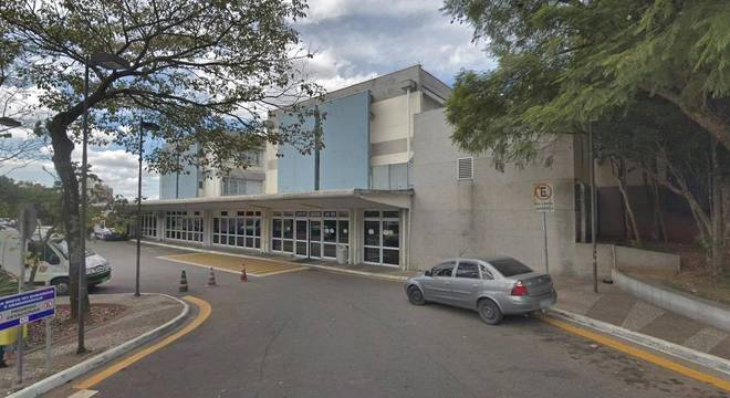 Hospital Estadual Mário Covas, onde mulher foi internada na ala psiquiátrica
