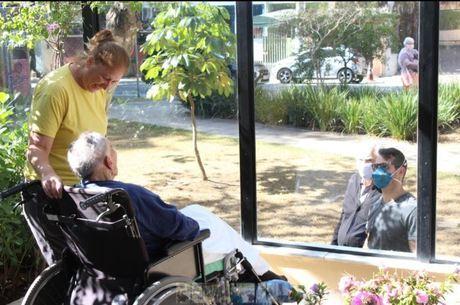 A 'janela da saudade' do Hospital Premier