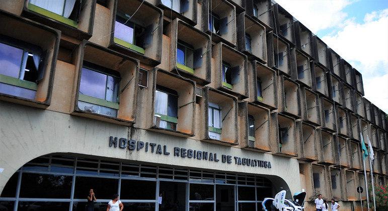 O caso aconteceu no Hospital Regional de Taguatinga