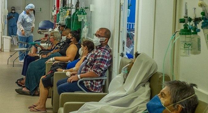 Hospital da Restinga, em Porto Alegre, teve supelotação de leitos de UTI para covid