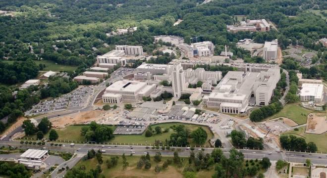 Walter Reed Medical Center, onde Donald Trump ficará pelos próximos dias