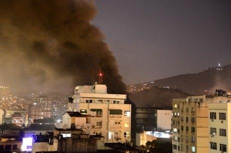 Incêndio atingiu hospital na zona norte do Rio de Janeiro