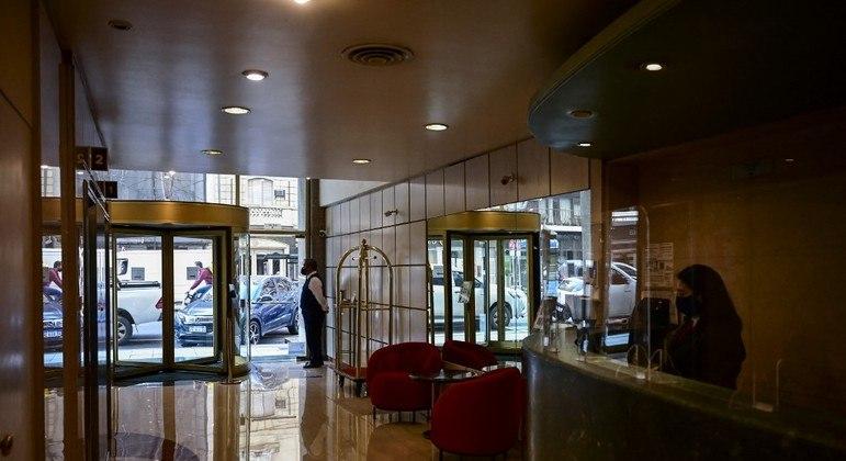 Falta de hóspedes afeta o funcionamento dos hotéis argentinos