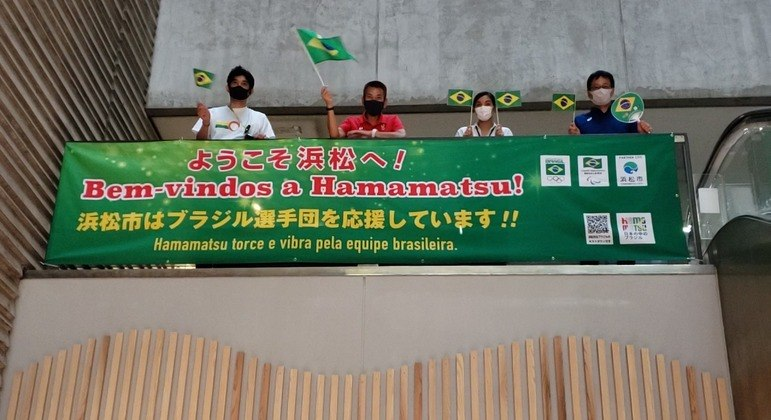 Delegação brasileira decidiu se hospedar em Hamamatsu antes de ir à Tóquio