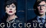 Além de Gaga, o longa trará Adam Driver, como Maurizio Gucci, e outros grandes nomes comoAl Pacino, Jeremy Irons e Jared Leto no elenco