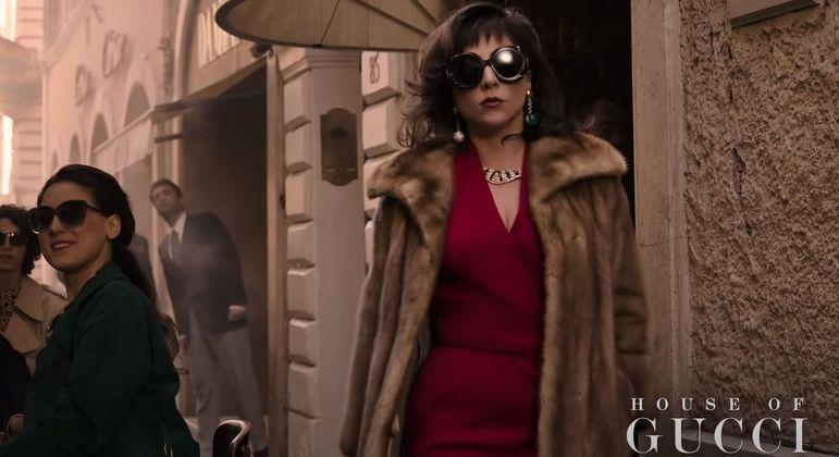 Lady Gaga interpreta socialite italiana em novo filme