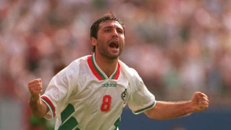 Hristo Stoichkov - O atacante explosivo e habilidoso guiou seu país ao quarto lugar na Copa dos Estados Unidos. Até aquele Mundial, a Bulgária tinha disputado cinco Copas e jamais havia vencido um jogo sequer.