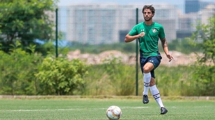 Hudson - 33 anos - Fluminense - Volante - Contrato até: 28/02/2021 - O contrato de empréstimo do volante com o Fluminense acaba no final de fevereiro, e o clube carioca negocia a permanência dele com o São Paulo.