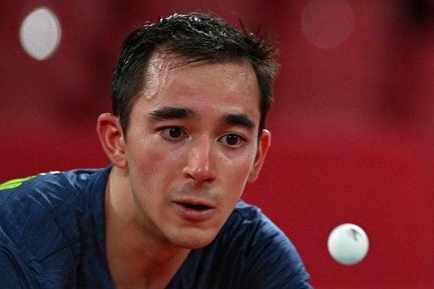 Hugo Calderano: o mesatenista de 25 anos, fez a melhor campanha de um brasileiro na história da modalidade em Tóquio 2020, alcançando as quartas de final no tênis de mesa individual, tem quatro ouros em Jogos Pan-Americanos e pode beliscar um pódio em Paris 2024