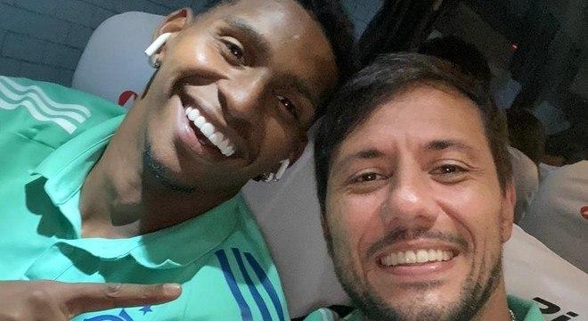 Hugo e Flamengo têm ótima relação. Ceni optou pela vivência, reflexos apurados e liderança