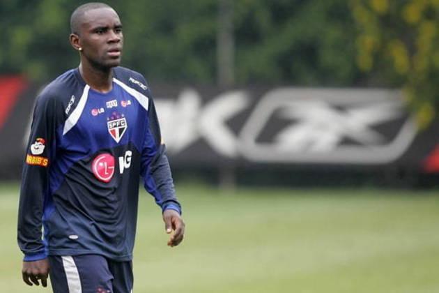Hugo - jogou no clube entre 2007 e 2009 - acordo de R$ 2,966 milhões