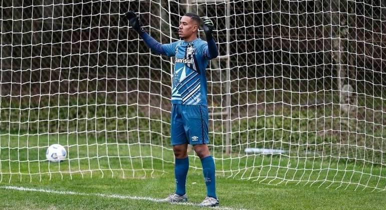 Hugo foi contratado pelo Grêmio em 2020, após o Campeonato Paulista pelo Mirassol