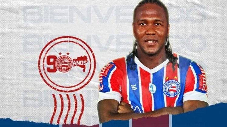 Hugo Rodallega - Clube atual: Bahia - Clube anterior: Denizlispor (Turquia) - Posição: Atacante - Idade: 36 anos