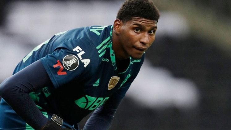 Hugo Souza - Clube: Flamengo - Posição: goleiro - Idade: 22 anos - Jogos no Brasileirão 2021: 0