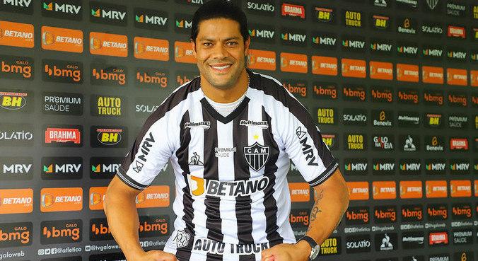 Hulk foi apresentado hoje pelo Atlético Mineiro. Festa com clima de tensão. Por Sampaoli
