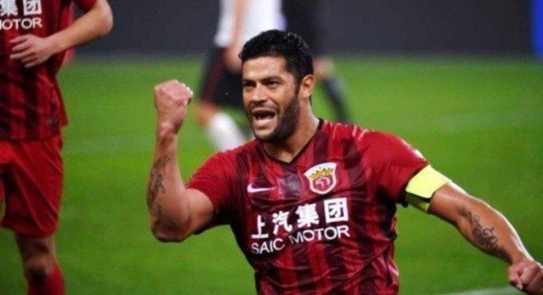 Hulk fez ótimas temporadas no futebol chinês