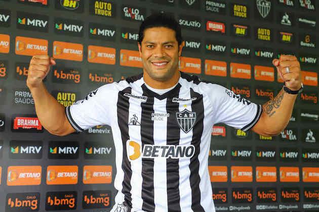 Hulk - Atacante - Atlético-MG - Estreia na Seleção Brasileira: 14/11/2009 - Clubes na Europa: Porto e Zenit