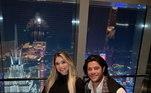 Hulk e Camila vivem em Changai, na China, e fazem questão de demonstrar os momentos bons que passam juntos. Desde que assumiram a relação, ela saiu das redes sociais