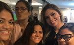 As irmãs de Hulk também fazem questão de mostrar que apoiam Camila e ficam feliz por ter o irmão mais próximo desde que os dois estão juntos. Por exemplo, nessa foto, a legenda é: 'Te amamos'