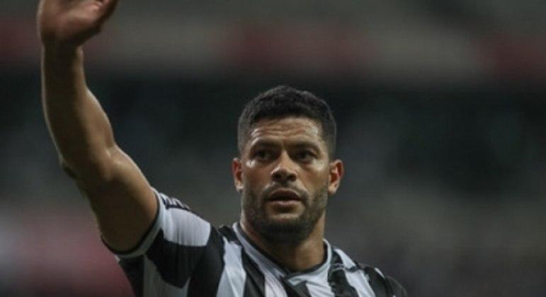 Hulk celebrou seu primeiro gol pelo Galo com a presença da Massa Alvinegra