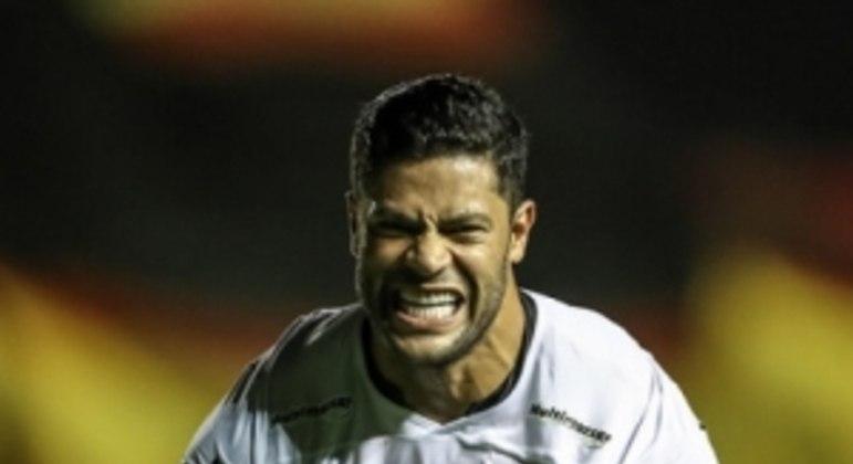 Hulk fez boa partida e marcou o gol que deu a primeira vitória do Galo neste Brasileirão