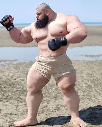Hulk iraniano, Sajad Gharibi