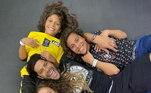 Jogar no Brasil seria ficar perto de Ian, Iago e Alice, filhos de Hulk com Iran Angelo. Os três moram em São Paulo e, seja na capital paulista ou mineira, a distância entre eles diminuirá. O atacante sente muita falta dos pequenos