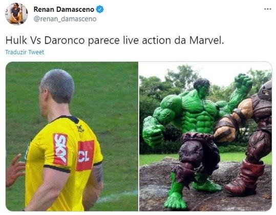 Hulk x Daronco? Encontro de