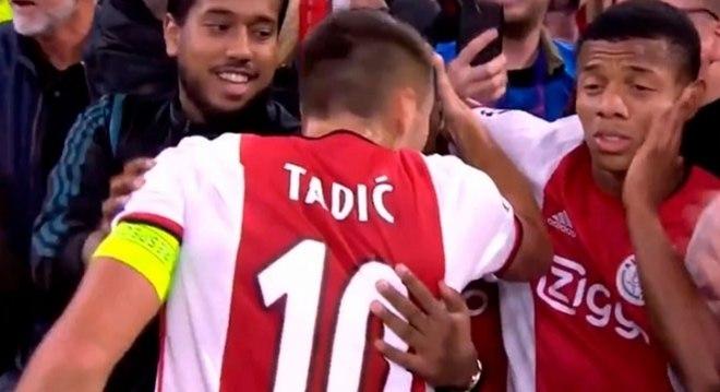 Ex-jogador do São Paulo ficou sem entender o tapa que levou do companheiro
