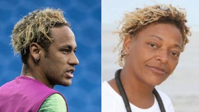 Resultado de imagem para cabelo de Neymar rende memes