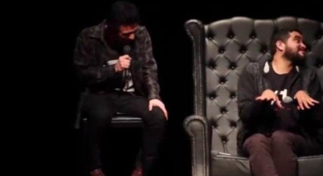 Comediantes abordaram o tema das pessoas com deficiência em stand-up