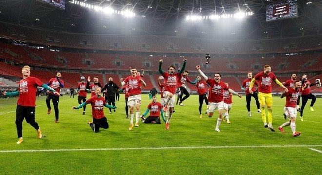 A celebração da Hungria