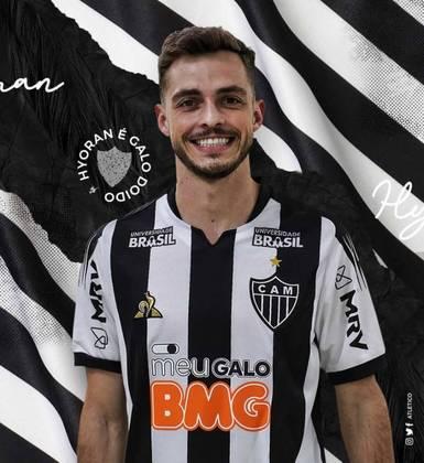 Hyoran está emprestado ao Atlético-MG até dezembro de 2020. Já seu contrato com o Verdão termina em dezembro de 2021.