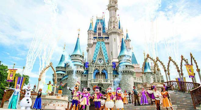 Disney está fechada por conta da pandemia