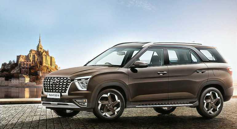 A Hyundai apresentou o seu novo Crossover de sete lugares para o mercado asiático
