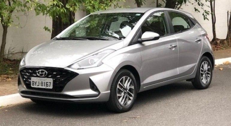 Hyundai HB20 teve mais de 7 mil unidades emplacadas