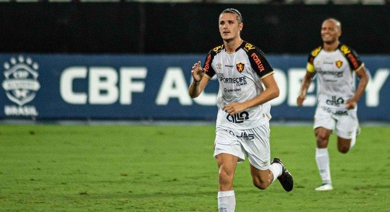 Iago Maidana fez o gol da vitória do Sport sobre o Botafogo