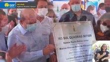 Ibaneis entrega reforma das quadras 507/508, na W3 Sul