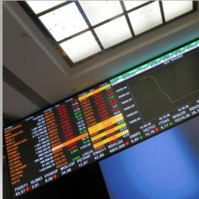 Ibovespa mostrava pouca oscilação nos primeiros negócios nesta quinta-feira (20)