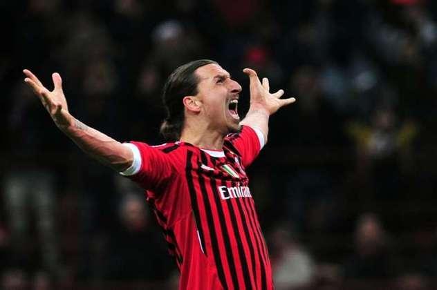 Ibra atualmente é um dos destaques do time do Milan que luta para conquistar a Liga Europa e o Campeonato Italiano.