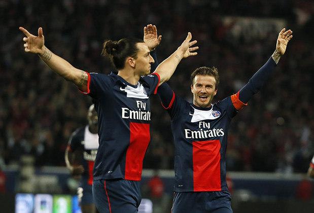 Ibra não poupou nem para David Beckham, seu companheiro em Paris. Sobre o estilo musical do inglês, Zlatan falou: