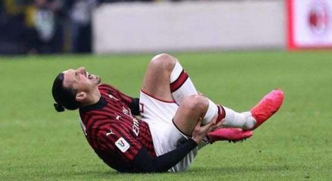 Ibrahimovic, o artilheiro lesionado
