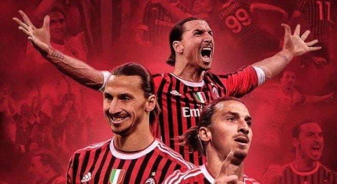 Ibrahimovic, o autor do primeiro gol de Milan 4 X 2 Juventus