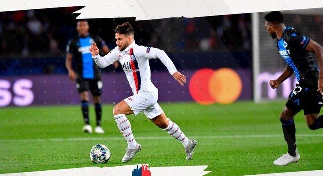 A arrancada de Icardi, PSG 1 X 0 Club Brugge