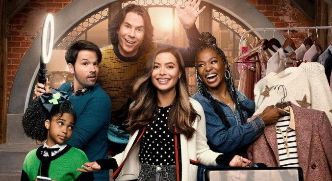 Miranda Cosgrove, Jerry Trainor e Nathan Cress retornam na nova fase de 'iCarly'