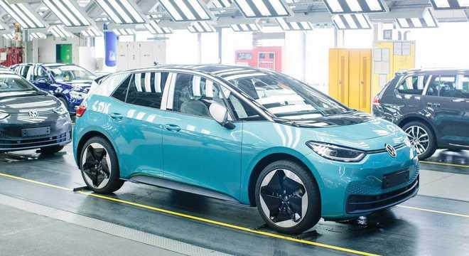 Produção do ID.3 segue em ritmo acelerado na Alemanha