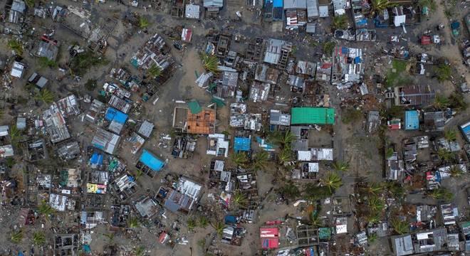 O número de mortos apenas em Moçambique pode chegar a mil