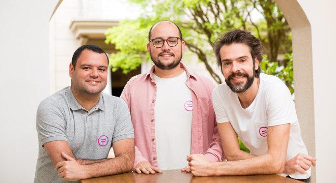 Aplicativo é gratuito e foi criado pelos sócios André Mendes, Gabriel Pinheiro e Marcelo Raimondi