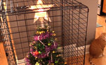 O Natal está chegando e muitas famílias já começam a tradição de montar a árvore. Mas esta tarefa não é tão simples para quem tem bebês ou animais de estimação em casa. Os pequenos curiosos ficam encantados com os enfeites coloridos e, quase sempre, derrubam tudo no chão. A seguir, algumas soluções criativas que ajudaram a manter a decoração até as festasLeia também:É Natal em novembro! Fãs ansiosos já estão montando suas árvores