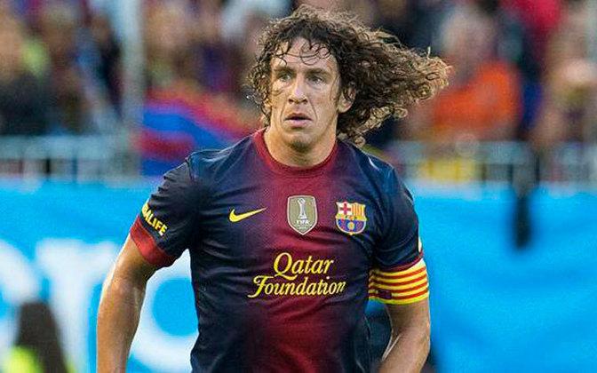 Ídolo do Barcelona, o zagueiro Carles Puyol ganhou a Copa do Mundo e a Eurocopa pela seleção espanhola